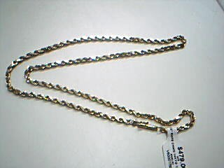 "18"" Gold Rope Chain 14K Yellow Gold 12.6g"