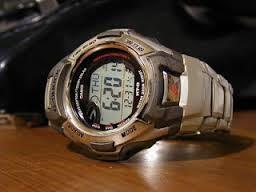 CASIO TC-M900DA GSHOCK GRAY DIGITAL WATCH
