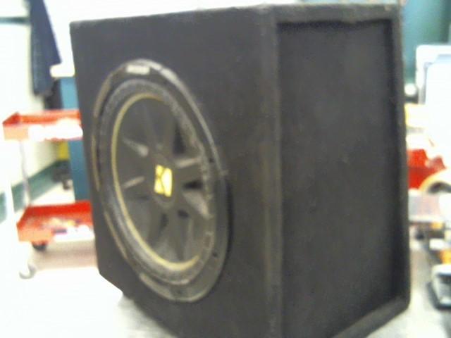 KICKER Car SpeakerCOMP 12 IN BOX