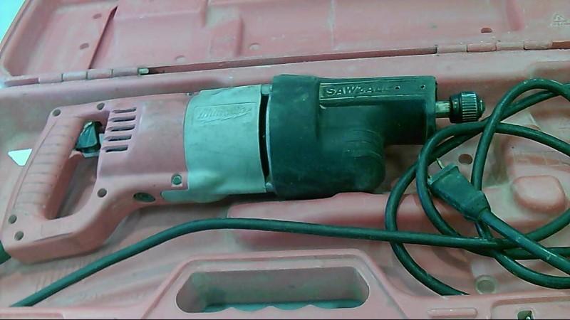 Milwaukee Model Sawzaw Corded Electric Reciprocating Saw