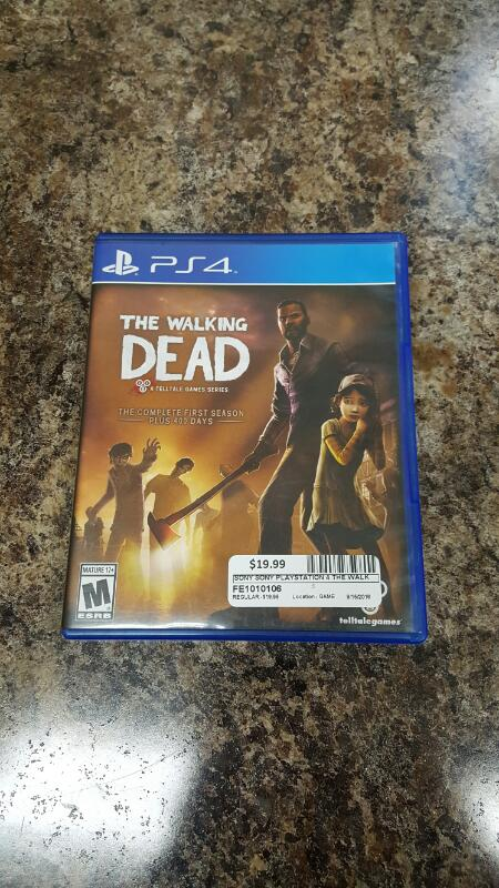 The Walking Dead: The Complete First Season Plus 400 Days (Sony PS4)