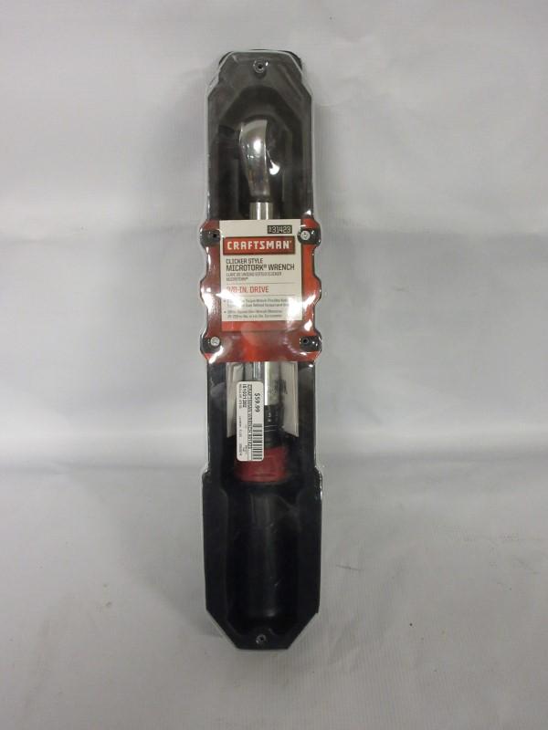 CRAFTSMAN Torque Wrench 31423