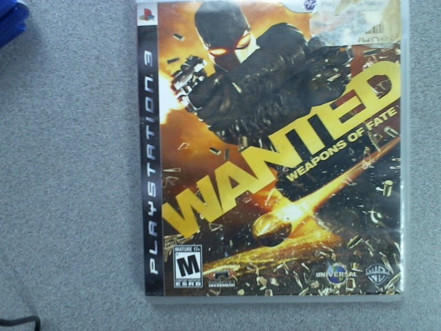 SONY Sony PlayStation 3 Game PS3 WANTED WEAPONS OF FATE