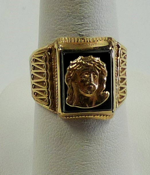 Gent's Gold Ring 10K Yellow Gold 2.6dwt