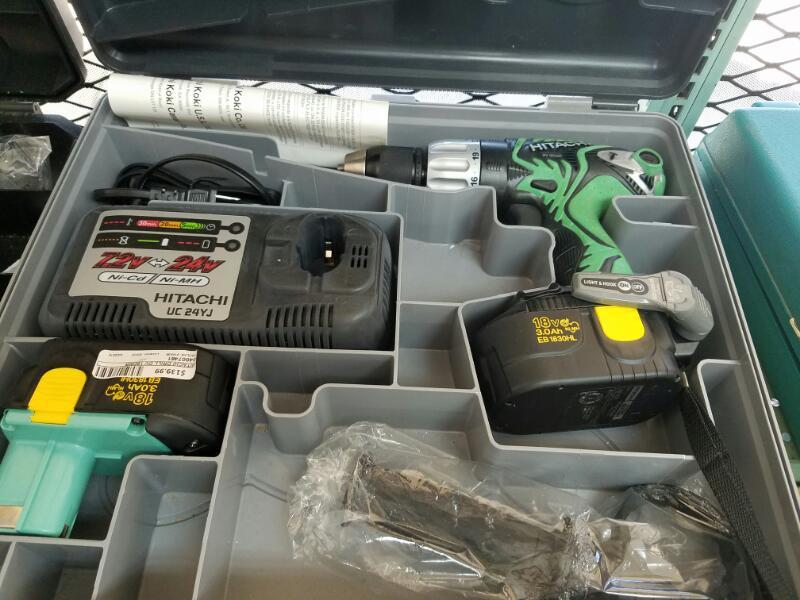 HITACHI Hammer Drill DV 18DMR
