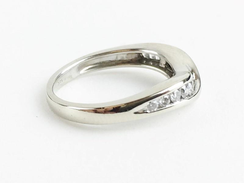 Diamond Ring 14 Diamonds .52 Carat T.W. 14K White Gold 2.39g