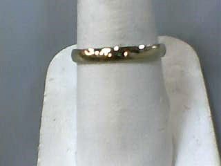 Gent's Gold Wedding Band 14K Yellow Gold 1.3dwt Size:8.3