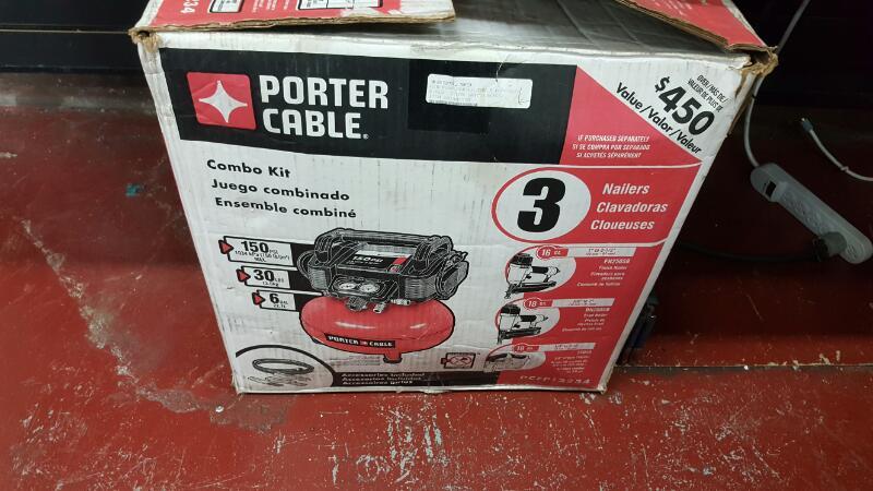 PORTER PCFP12234    AIR PUMP CABLE PCFP1223