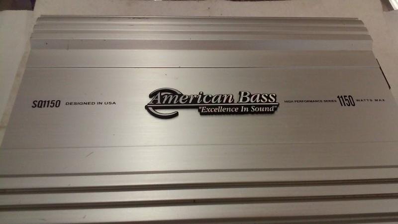 AMERICAN BASS Car Amplifier SQ1150