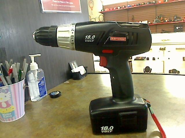 CRAFTSMAN Cordless Drill 973.113070