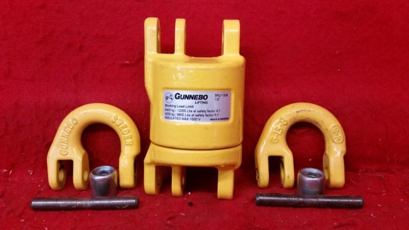 "Gunnebo Lifting 1/2"" SKLI-13-8 Grade 80 Insulated Swivel 12000lb"