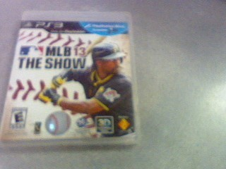 SONY Sony PlayStation 3 Game MLB 13 THE SHOW