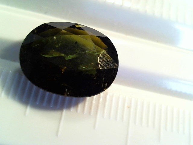 Green Tourmaline 6.85ct