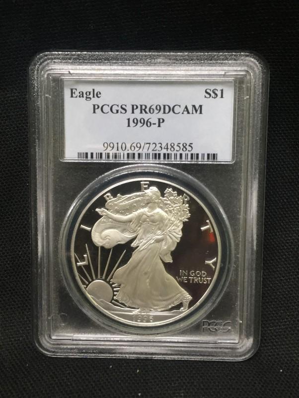 United States Silver Coin Silver Eagle 1oz Fine Silver