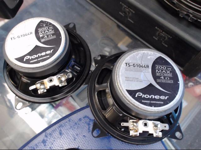PIONEER ELECTRONICS Car Audio TS-G1044R
