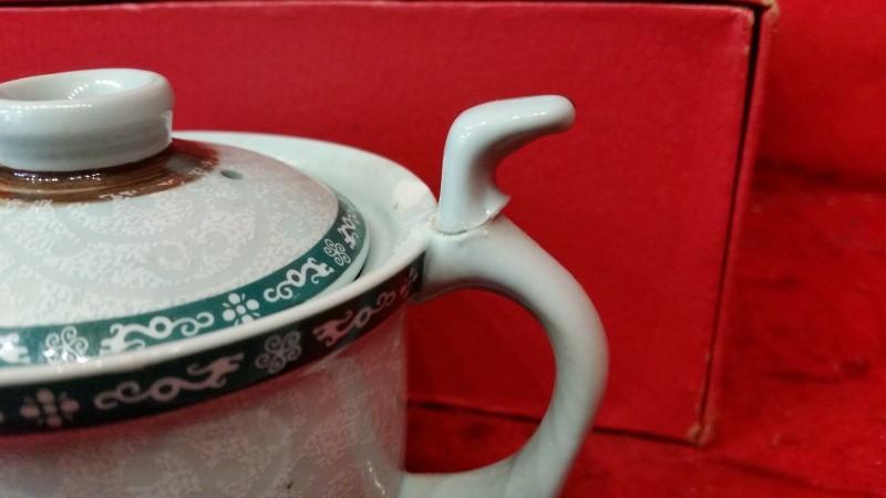 Chinese Mini Porcelain Tea Set