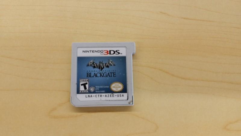 BATMAN ARKHAM ORIGINS BLACKGATE NINTENDO 3DS