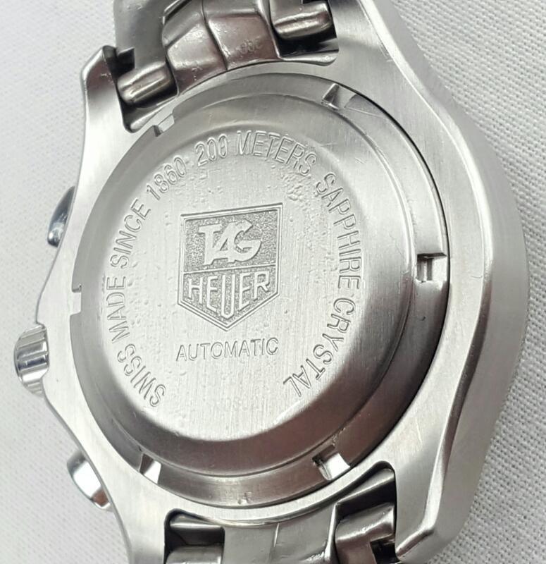 TAG HEUER LINK AUTOMATIC CHRONOGRAPH CJF2112 WRISTWATCH