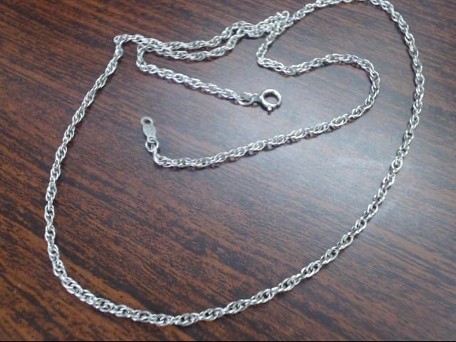 "18"" Silver Chain 925 Silver 2.9g"