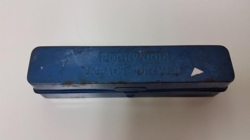 "Vintage Rockwood Hand Powered 1/2"" Impact Driver No. 2500"
