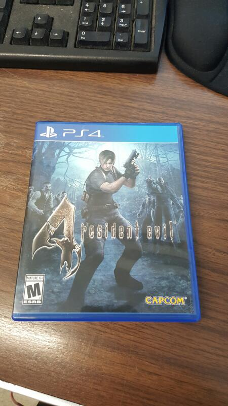Resident Evil 4 (Sony PlayStation 4, PS4)