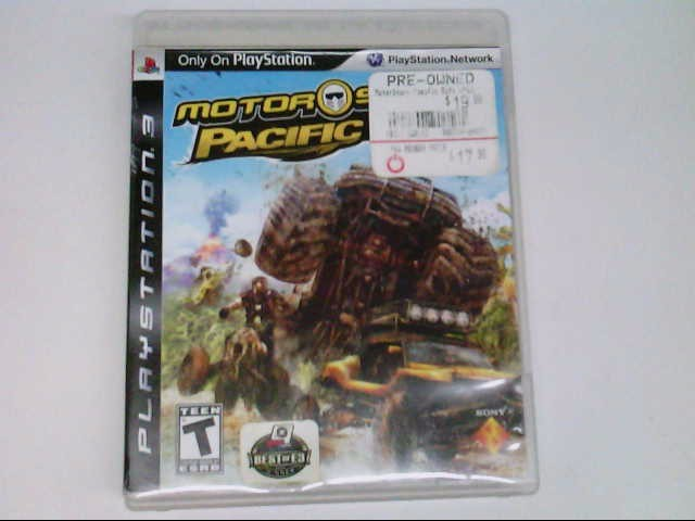 SONY PS3 MOTOR STORM PACIFIC RIFT