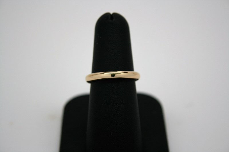 LADY'S GOLD BAND 18K YELLOW GOLD