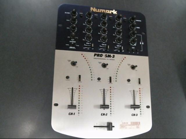 NUMARK ELECTRONICS Mixer PRO SM-3