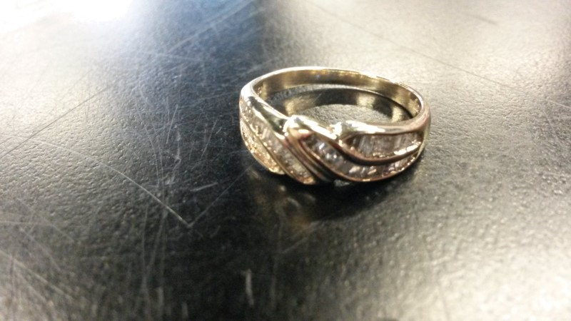10KYG_2.0DWT_.20CTTW Lady's Diamond Fashion Ring 46 Diamonds .46 Carat T.W.