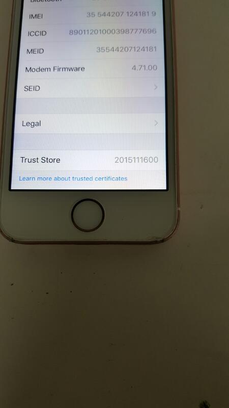 Apple iPhone SE, 16gb (MLYA22L/A, Rose Gold, Sprint)