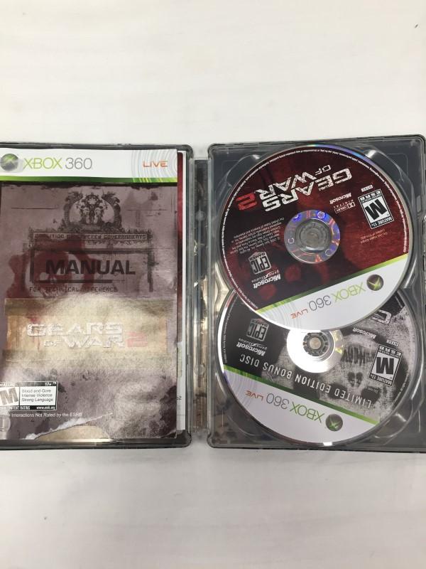 MICROSOFT XBOX 360 GEARS OF WAR 2 LIMITED EDITION XBOX 360
