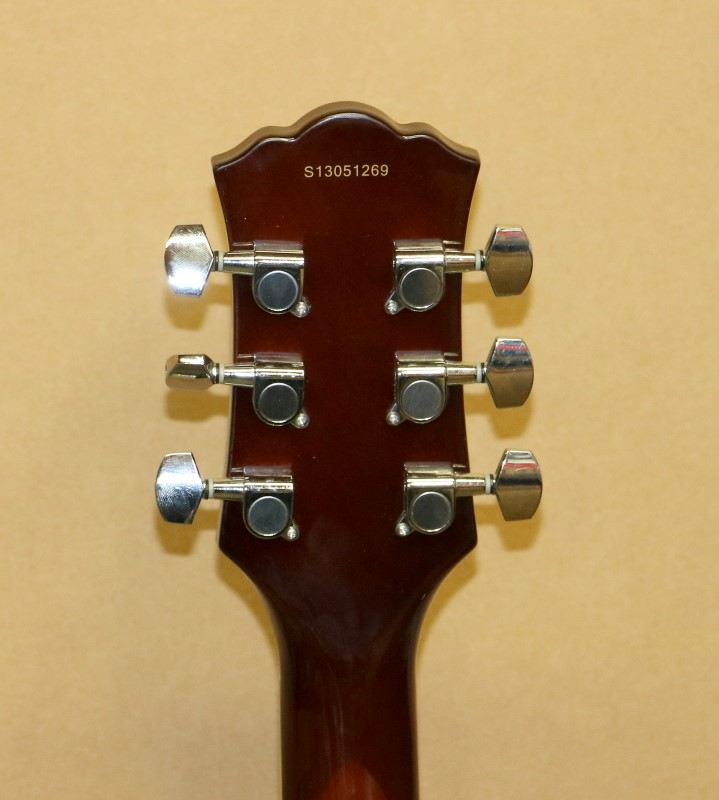 OSCAR SCHMIDT Electric-Acoustic Guitar OE20G GOLD TOP SINGLE CUTAWAY SETNECK