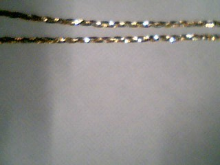"16"" Gold Herringbone Chain 14K Tri-color Gold 2.7g"