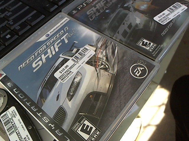 SONY Sony PlayStation 3 Game NEED FOR SPEED SHIFT