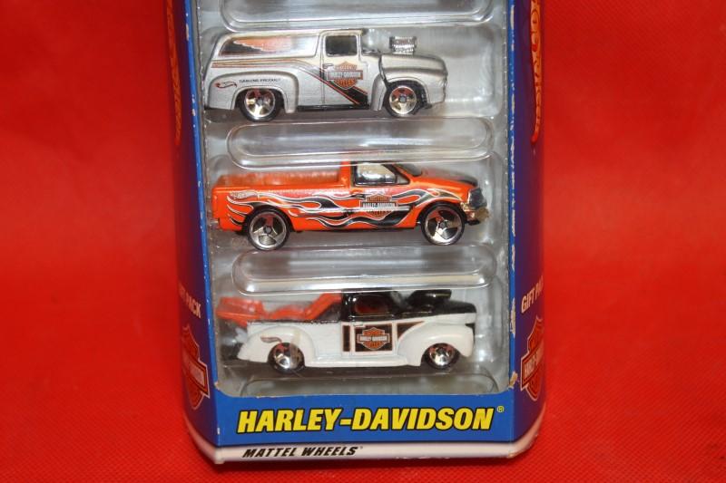 Hot Wheels - Harley Davidson 5 Pack Gift Set #50030