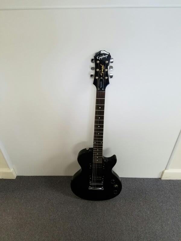 Epiphone Les Paul Special II 2 Black Glossy 6-String Electric Guitar