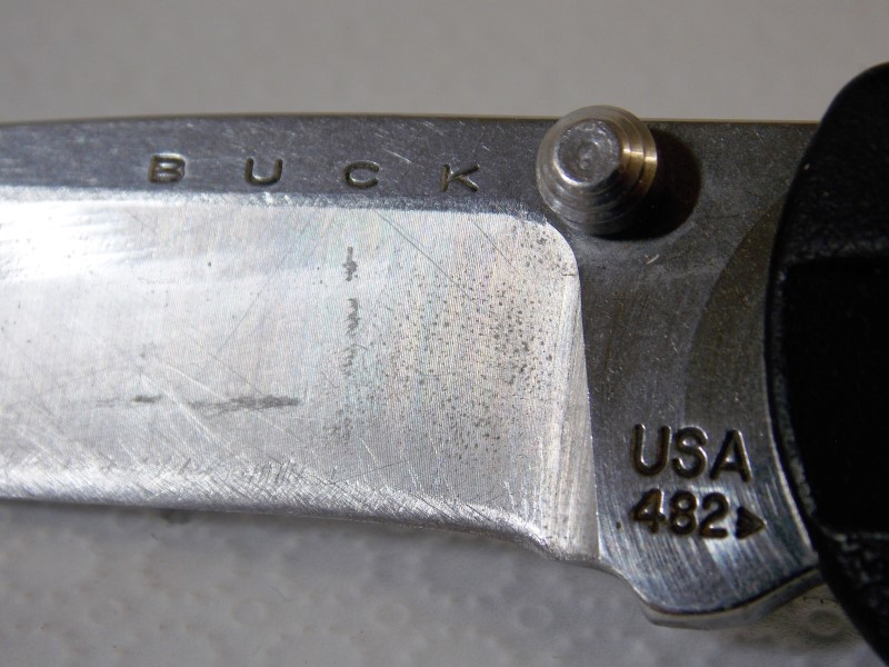 BUCK KNIVES 482, USA, FOLDING BLADE