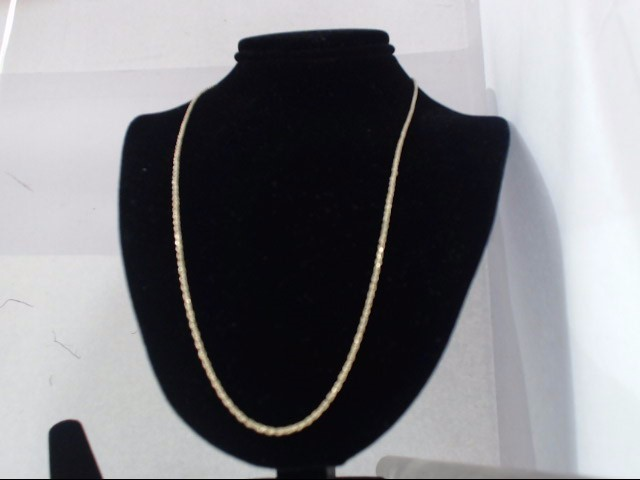 Gold Rope Chain 10K Yellow Gold 3g