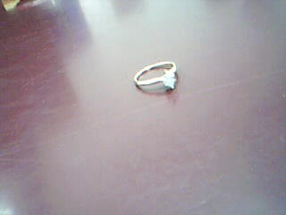 Gent's Diamond Solitaire Ring .50 CT. 14K Yellow Gold 1.9g