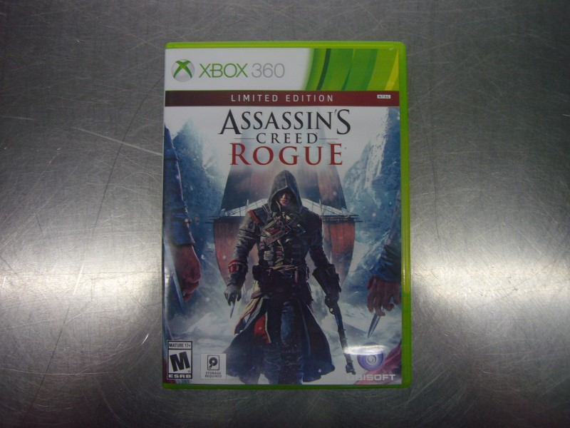 MICROSOFT XBOX 360 Game ASSASSINS CREED ROGUE