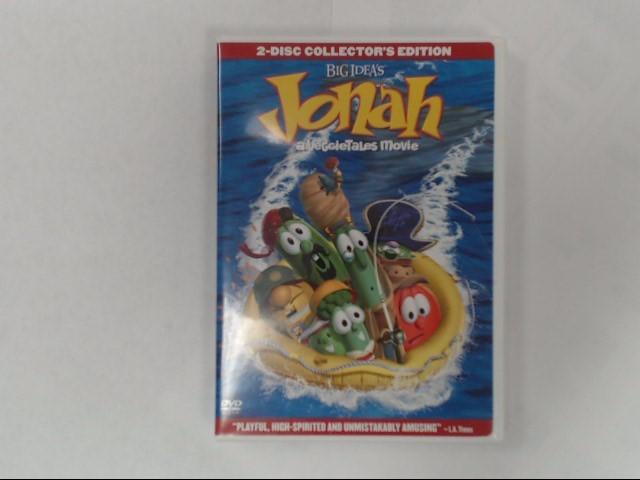 DVD MOVIE BIG IDEA'S JONAH A VEGGIETALES MOVIE 2-DISC COLLECTOR'S EDITION
