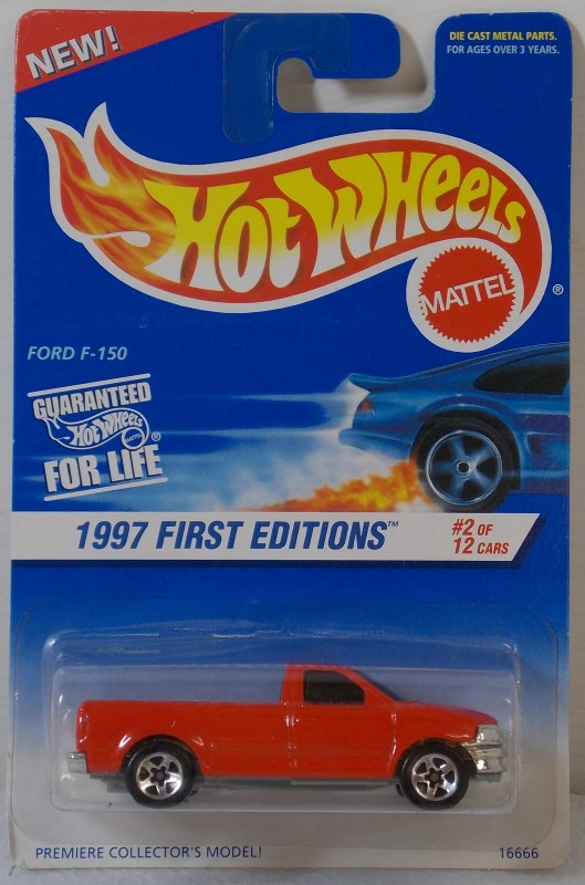HOT WHEELS 1997 FIRST EDITIONS, 3 CARS ONLY