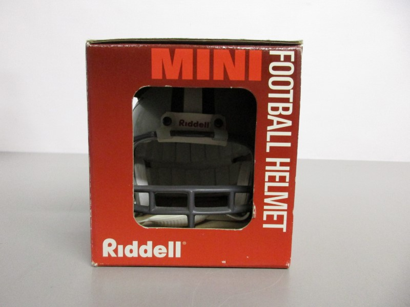 CHAD HENNINGS SIGNED 1995 RIDDELL MINI HELMET