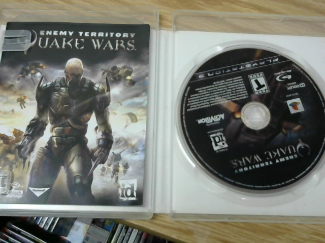 SONY Sony PlayStation 3 Game QUAKE WARS ENEMY TERRITORY