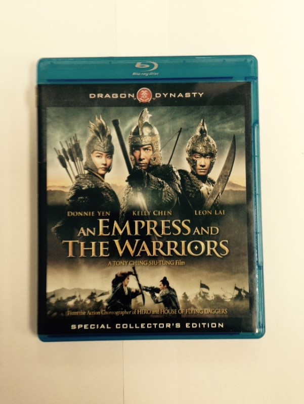 An Empress and the Warriors 2008 BLU-RAY