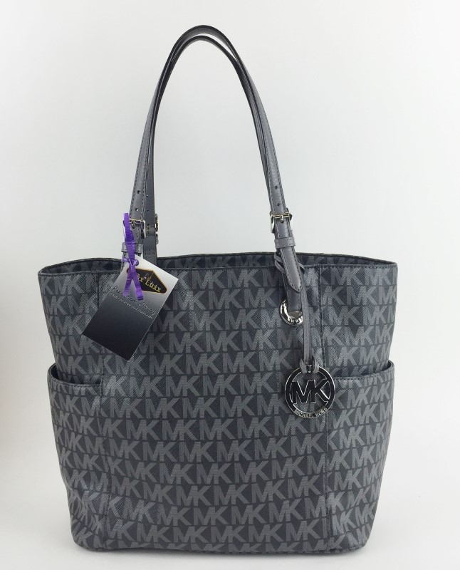 MICHAEL KORS JET SET LARGE EW TOTE HANDBAG