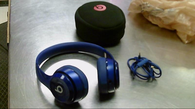 BEATS HEADPHONES SOLO 2 BLUE
