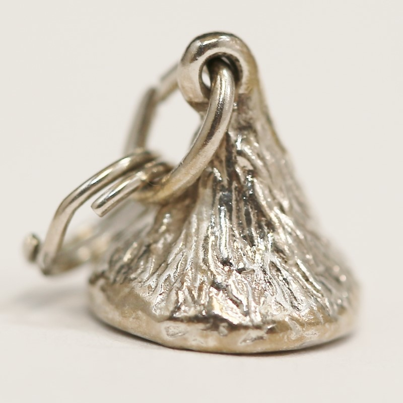 Chocolate Kiss Sterling Silver Pendant