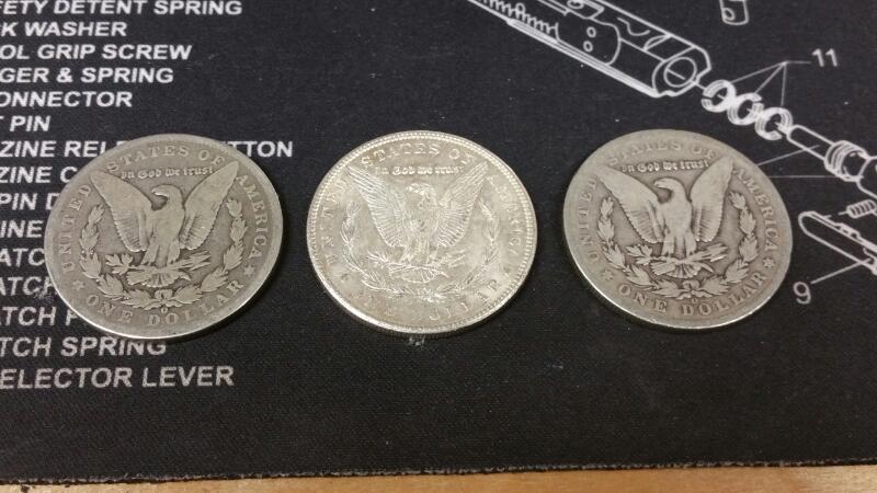 UNITED STATES Silver Coin 1901-O MORGAN SILVER DOLLAR