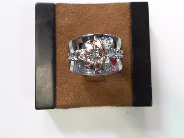 Lady's Silver Ring 925 Silver 5.4dwt